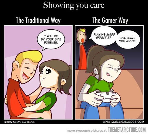 Except It Should Be A Halo Gears Lego Elder Scrolls Game I M Too Chicken To Play The Scary Ones Gamer Humor Gamer Couple Funny Games