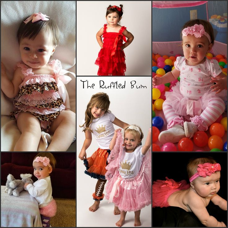 61e099577 The Ruffled Bum not only sells our cute baby girl clothes on our website -  we