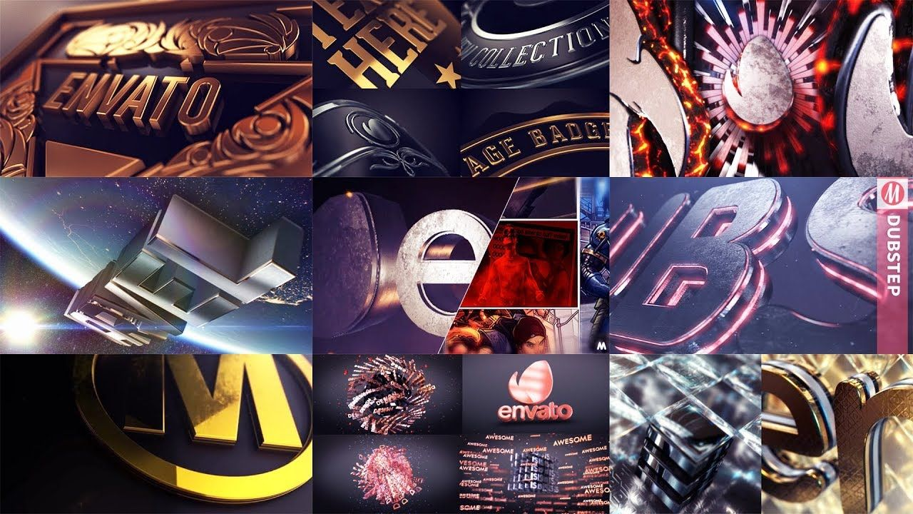 Top 10 intro logo Element 3d Template Free After Effects