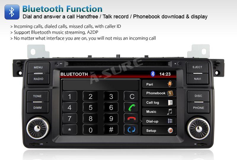 3G INTERNET car DVD GPS sat nav PIP IPOD Bluetooth stereo for BMW E39 E53 X5 E38