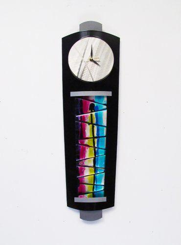Seiko Qxm485blh Brookfield Contemporary Wall Clock Contemporary Wall Clock Wall Clock Wall Clock Modern