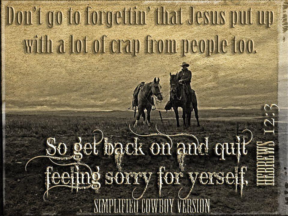 keywords: Cowboy, Horse, Ranch, Cattle, Jesus, Christ, God ...