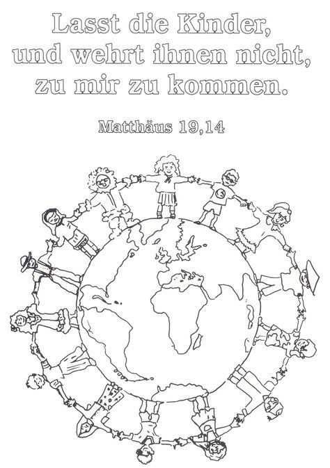 Ausmalbild Religion Gs