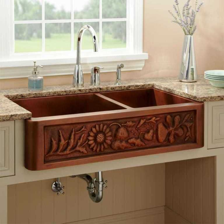 28+ Stunning Farmhouse Kitchen Sink Ideas & Designs For ...