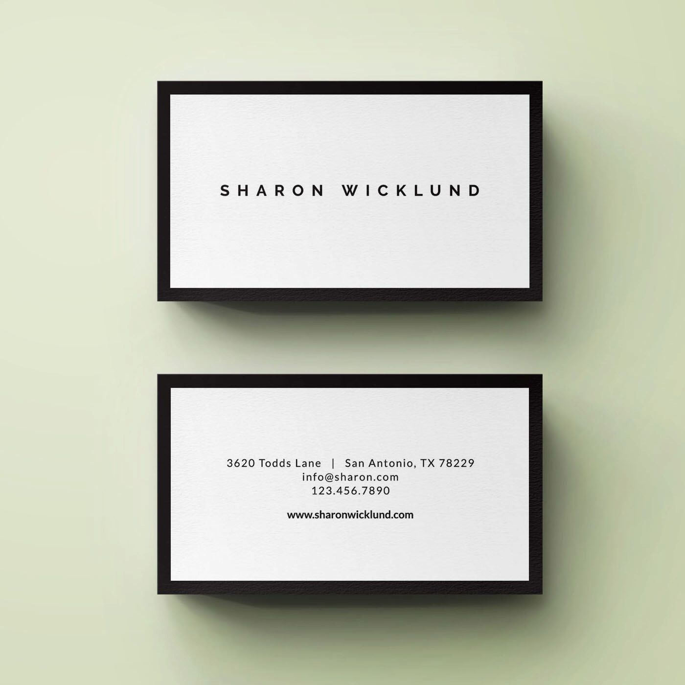 Premade Business Card Template, Small Business Card, Photography ...