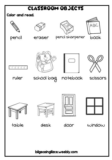 2nd grade worksheets, 2. sinif ingilizce calisma kagitlari
