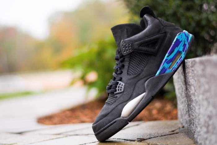 Air Jordan 4 Aqua Custom Nicekicks Com Air Jordans Jordan 4 Jordans