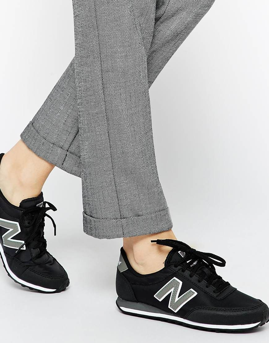 804f2b21860 Image 1 of New Balance 410 Black Sneakers