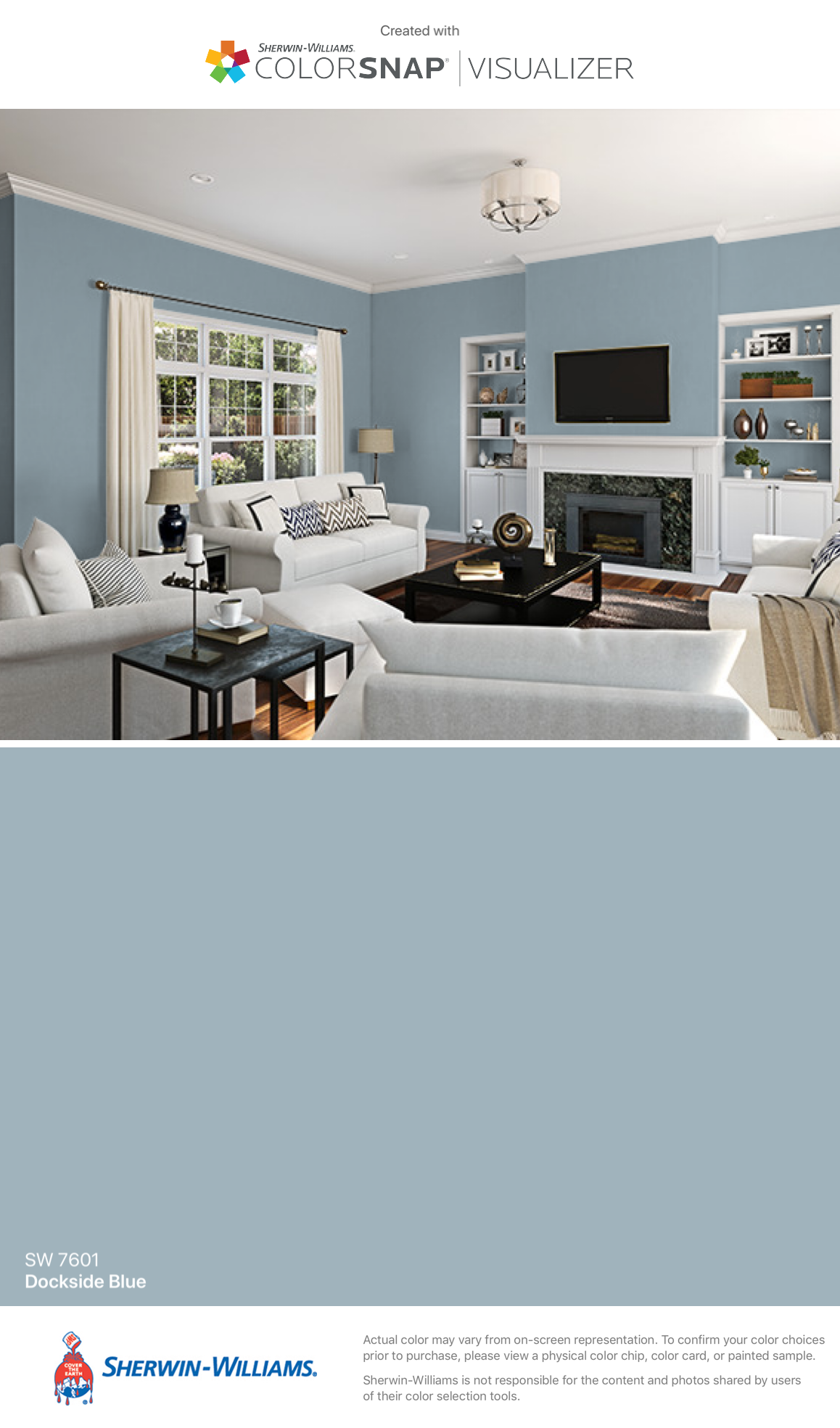 Sherwin Williams Dockside Blue Sw 7601 Exterior Paint Colors Comfort Gray House Colors