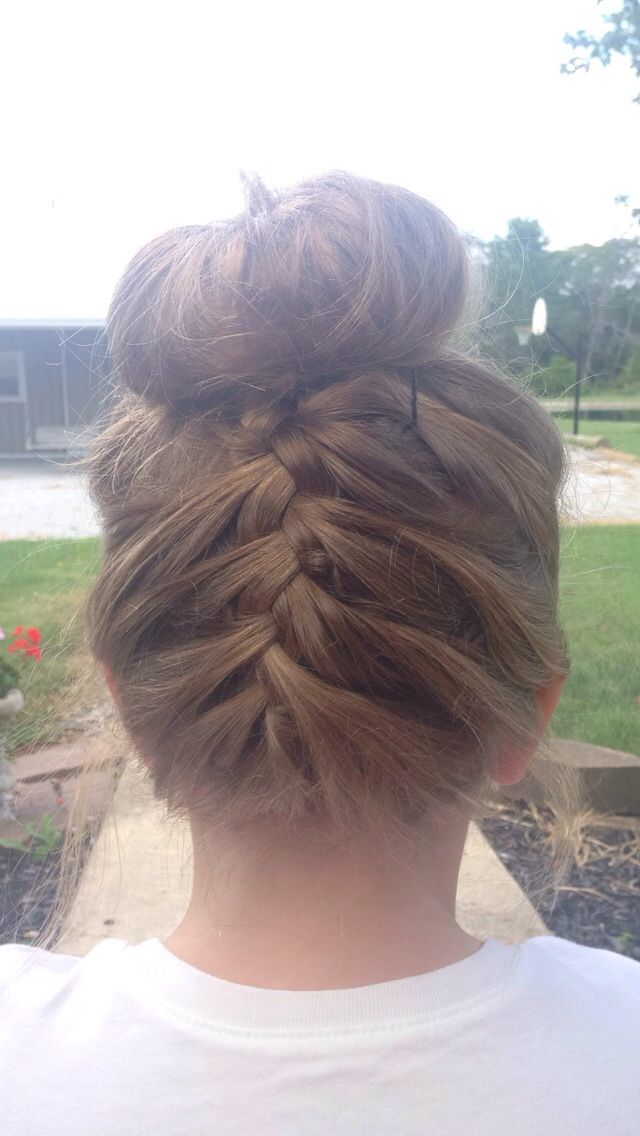 1000+ images about Gym Related on Pinterest | Activewear ...  |Athletic Hair Buns