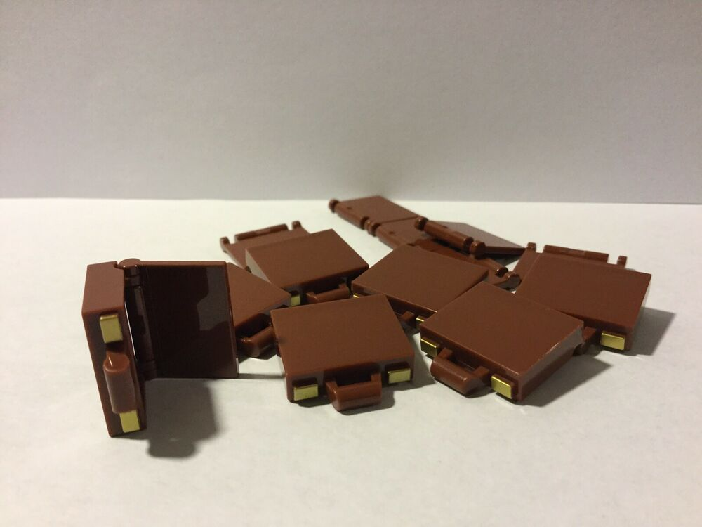 Utensil Briefcase Reddish Brown 6 NEW LEGO Minifig