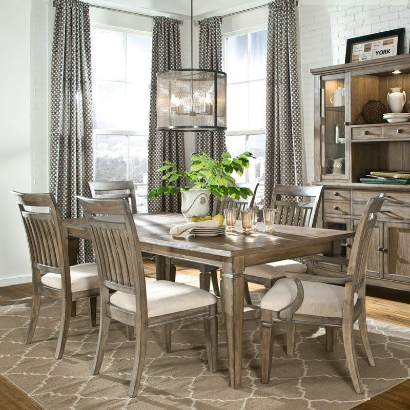 have to have it. legacy brownstone village 7 piece dining table, Esstisch ideennn