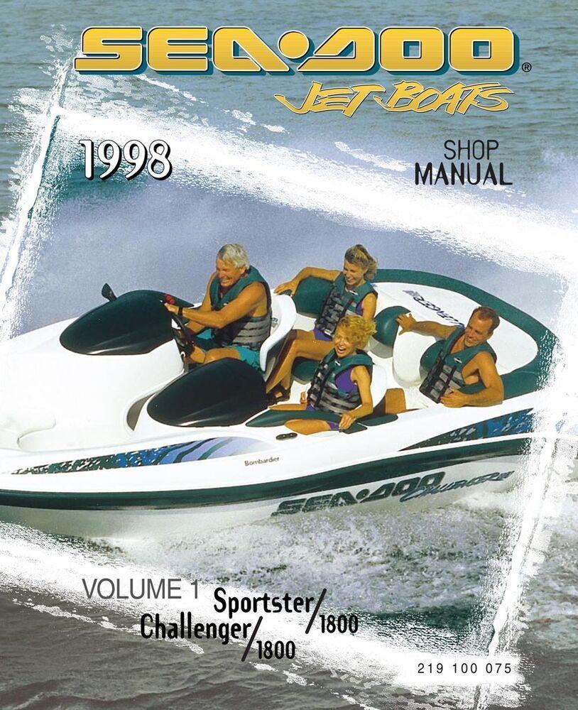 Advertisement eBay) Sea-Doo 1998 Sportster, Challenger, 1800