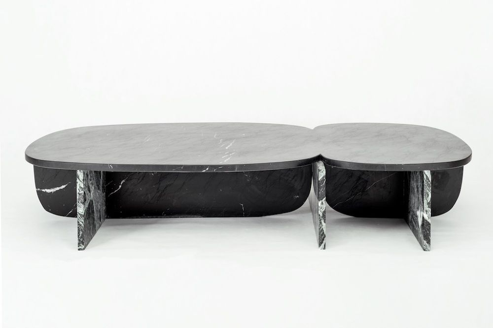 Thriliton Collection By Os Oos Modern Stone Coffee Table