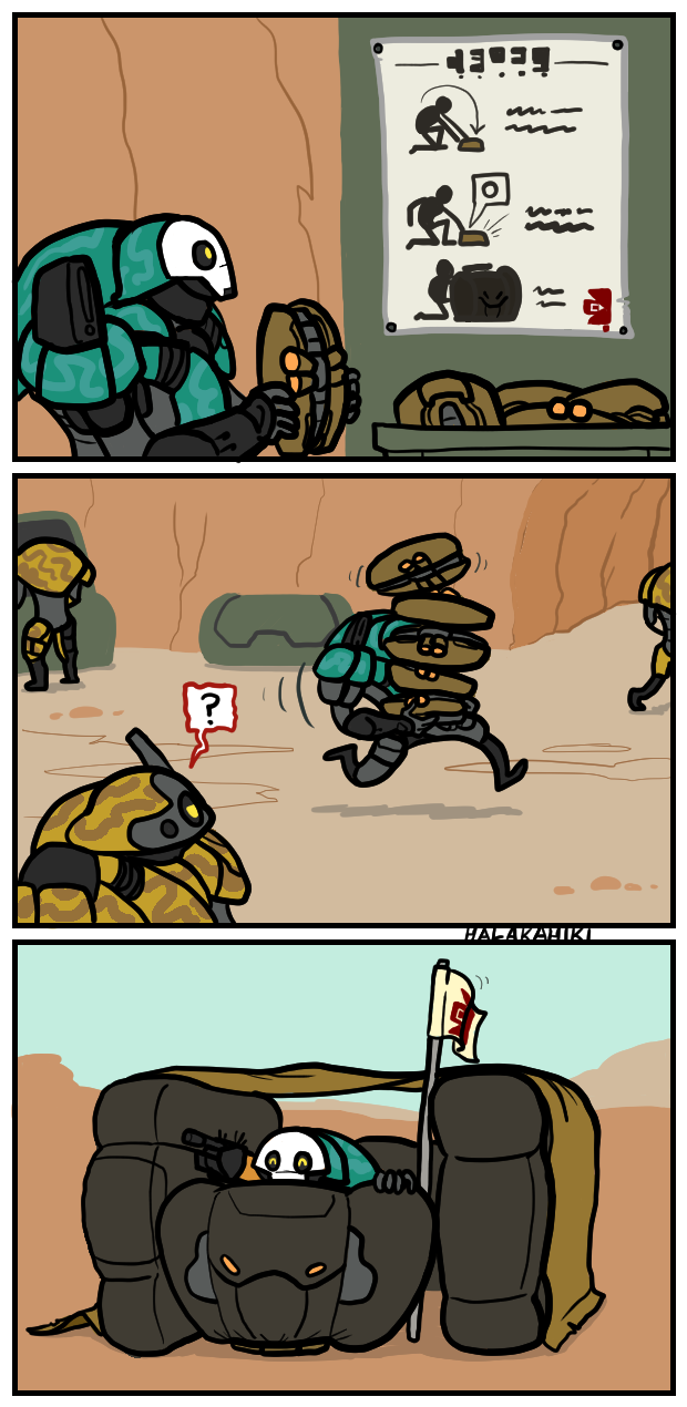 Who Doesn T Want An Inflatable Fort Warframe Art Funny Games Funny Comics