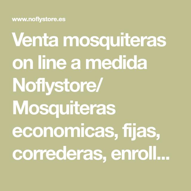 Mosquiteras fijas a medida latest alpz perfil z for Mosquiteras fijas a medida