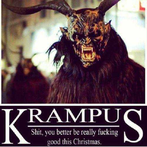 Krampus #demon #horns #creepyholidays #creepmas #horrorholidays