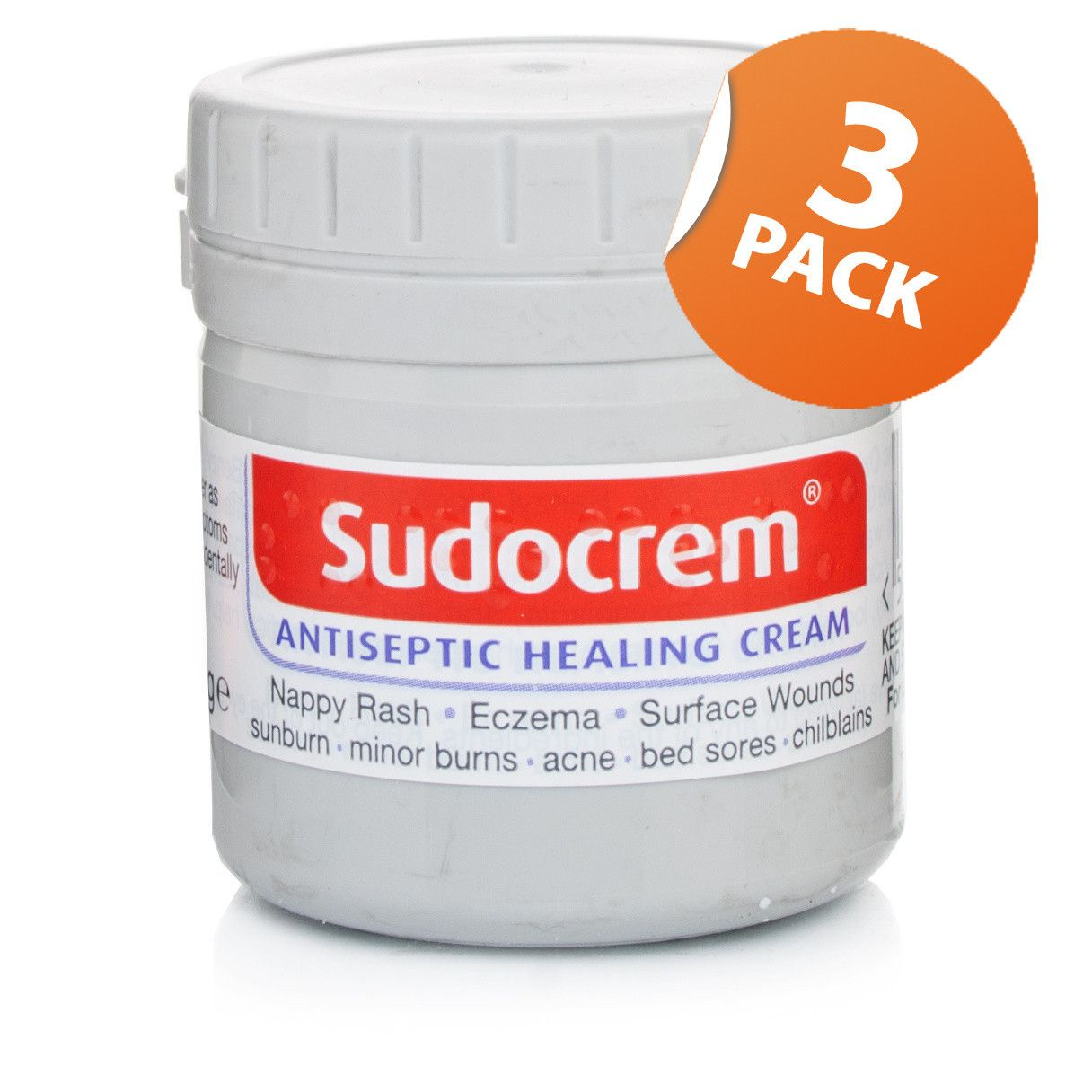 Sudocrem Antiseptic Healing Cream Triple Pack Skin care