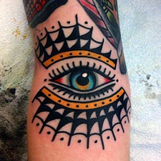 50 Traditional Eye Tattoo Designs For Men – Old School Ideas – Man Style | Tattoo