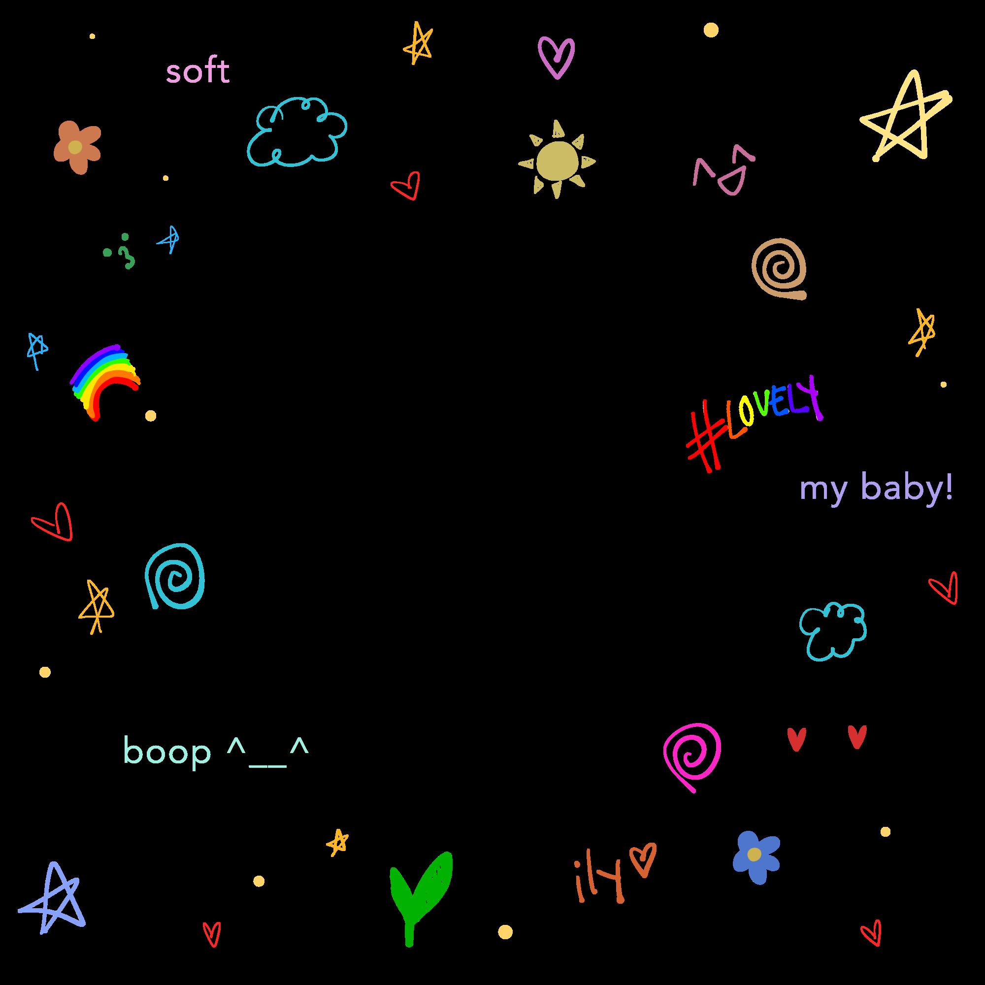 Soft Aesthetic Cute Softedit Edit Kawaii Kpop Border Messy Cyber Doodle Frame Freetoedit Remixit Desain Pamflet Seni Buku Kartu Kertas