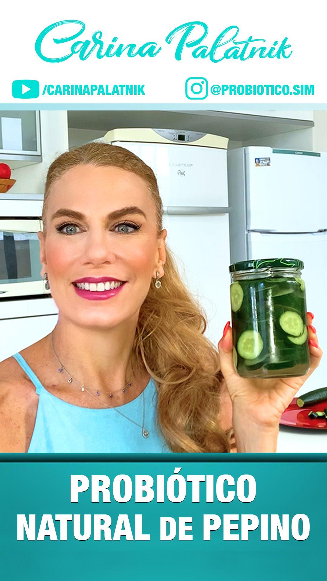 Receita Fácil e Super Saudável de PROBIÓTICOS, que são as bactérias do bem que ajudam aumentar a sua imunidade. Entenda que você não deve consumir grandes quantidades por dia, apenas 3 ou 4 rodelas são suficientes. Portanto não exagere! Gostou da dica? Então encaminha essa receita fantástica! #receitasaudavel #lowfodmap #probiotico #receitafacil #fodmap #vidasaudavel #picles #alimentacaofuncional #sii #prebiotico #pepino #cozinhasaudavel #cucumber #pickles