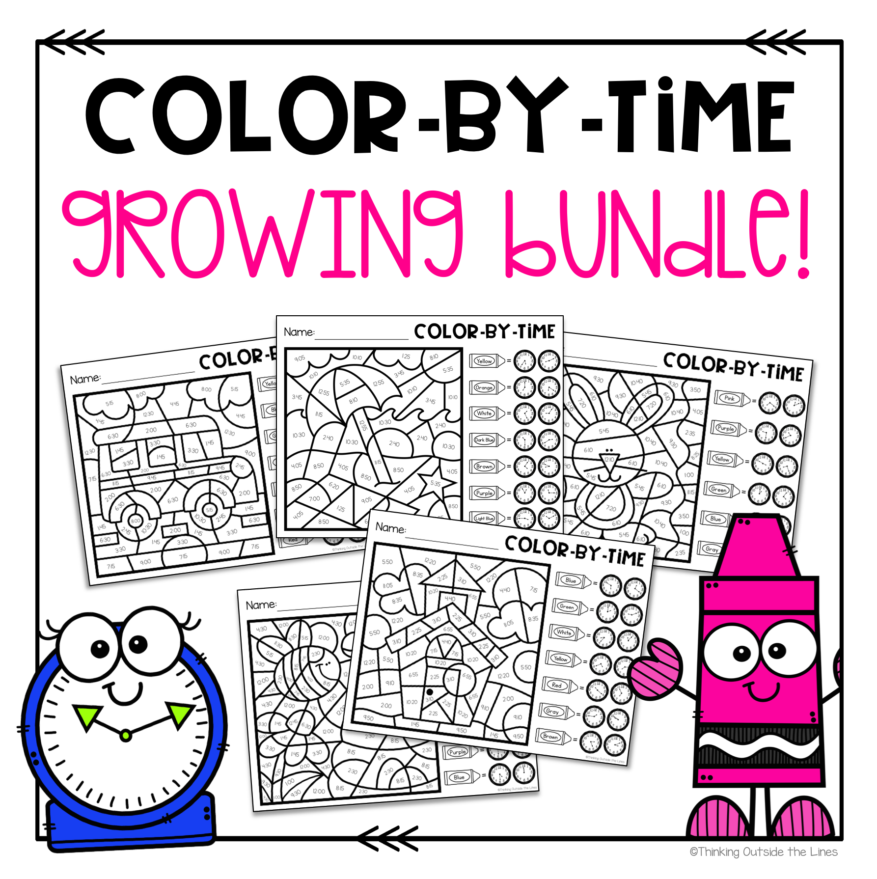 Color By Time Growing Bundle