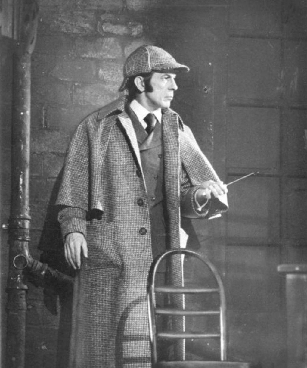 Leonard Nimoy Sherlock Holmes 1976 Sherlock Holmes