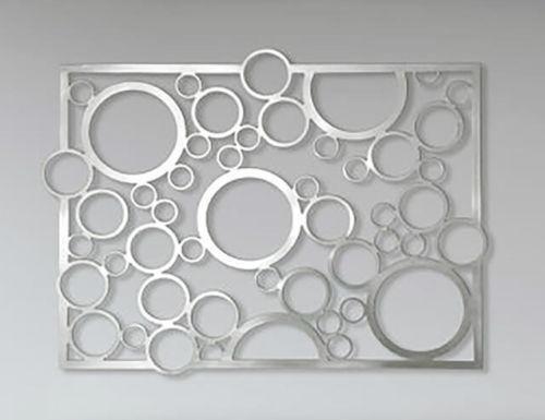 Abstract Stainless Steel Wall Art Sculpture Decor Circles Steel Wall Art Stainless Steel Wall Art Wall Sculpture Art