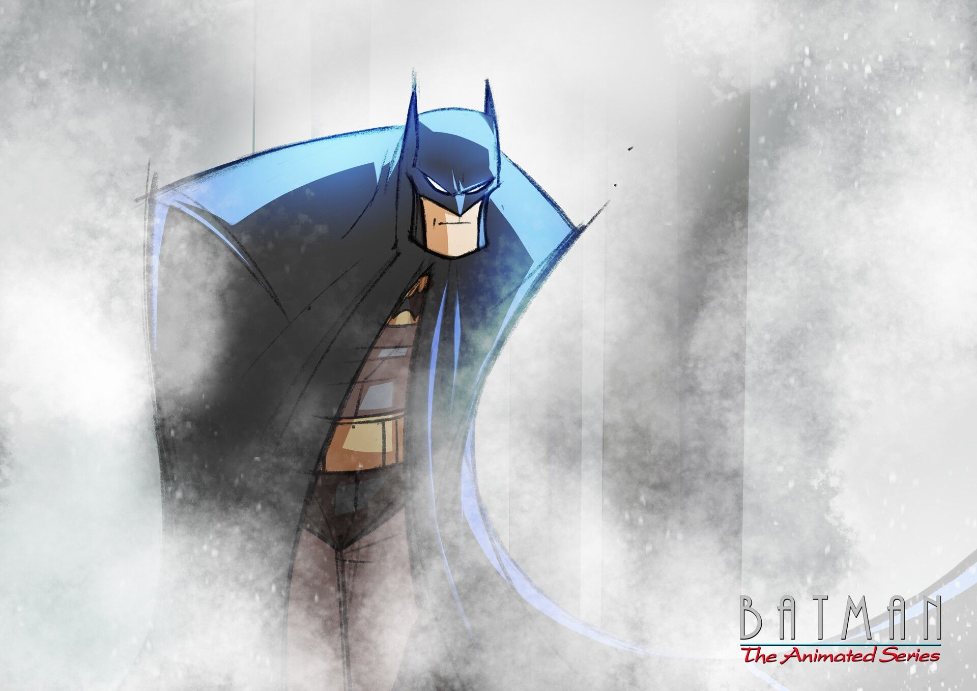 Batman The Animated Series By Kevin Shahlast Night I Rewatched Mask Of The Phantasm To Rekindle My Love For Batman Superhero Art Batman The Animated Series