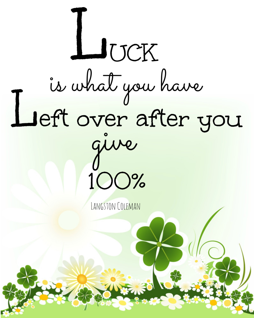 Luck printable.jpg Box St patricks day quotes, Spring