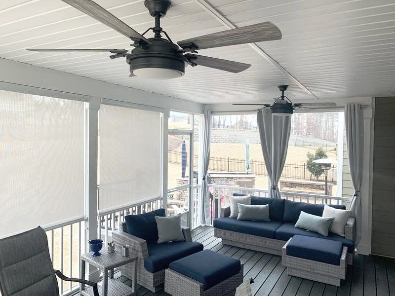 Coolaroo Solar Outdoor Shades Blinds Com Outdoor Shade Porch Shades Outdoor Solar