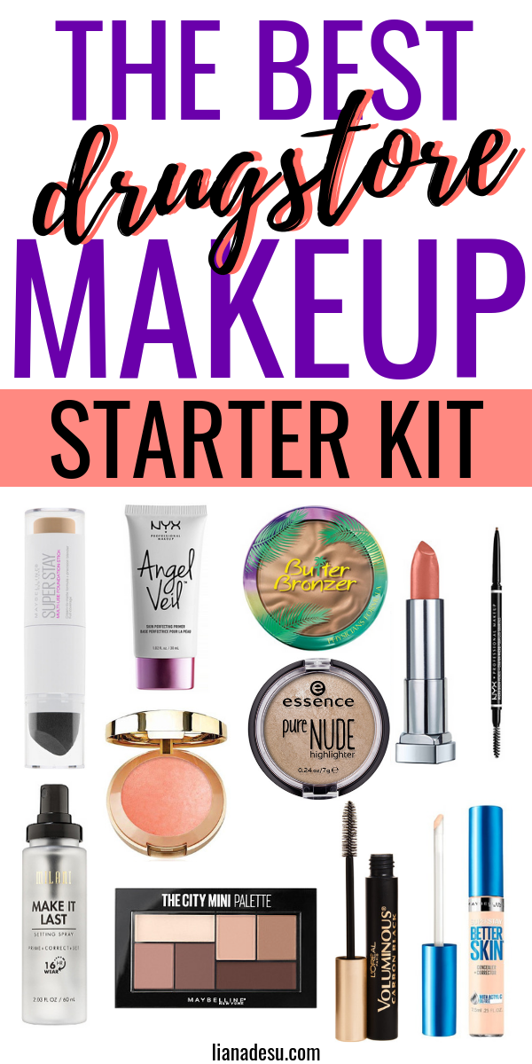 Ultimate Drugstore Makeup Starter Kit for Beginners