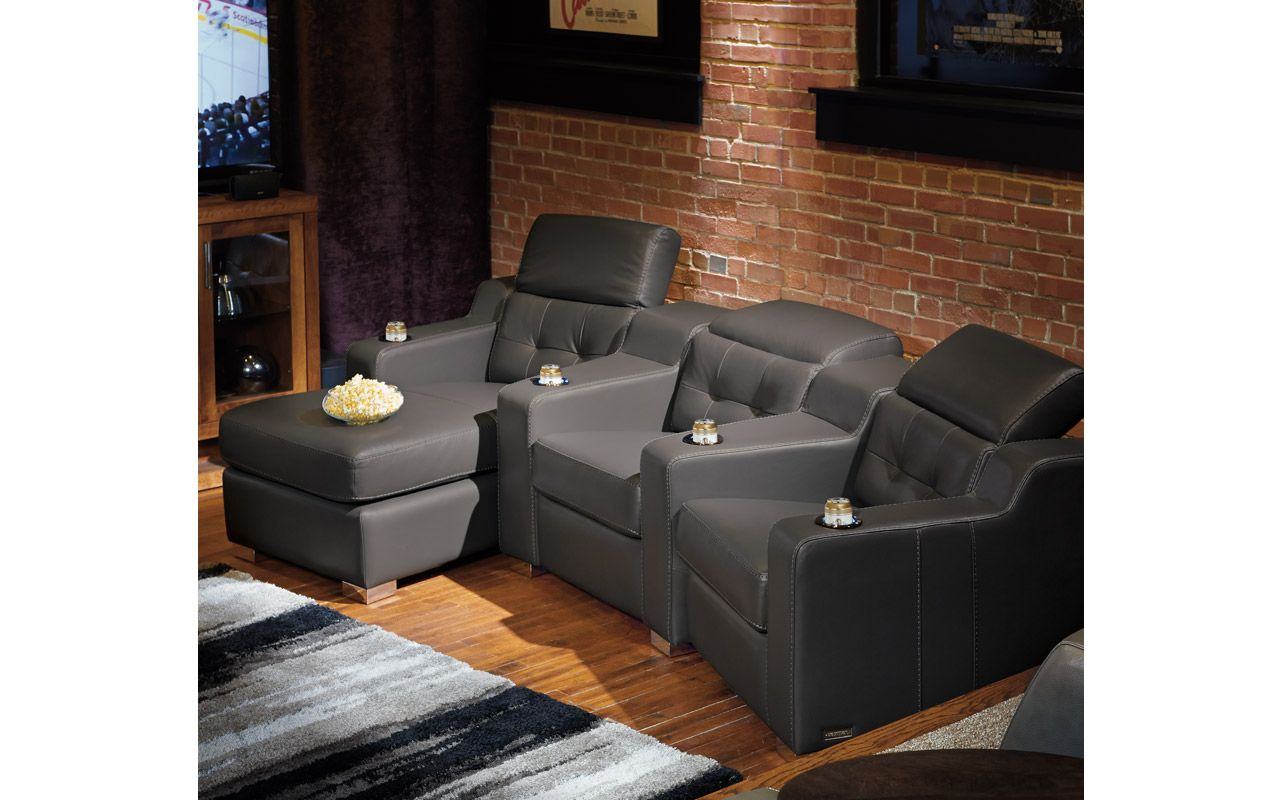 Jaymar Sectional Corrado Home Theater Seating Sectional Furniture