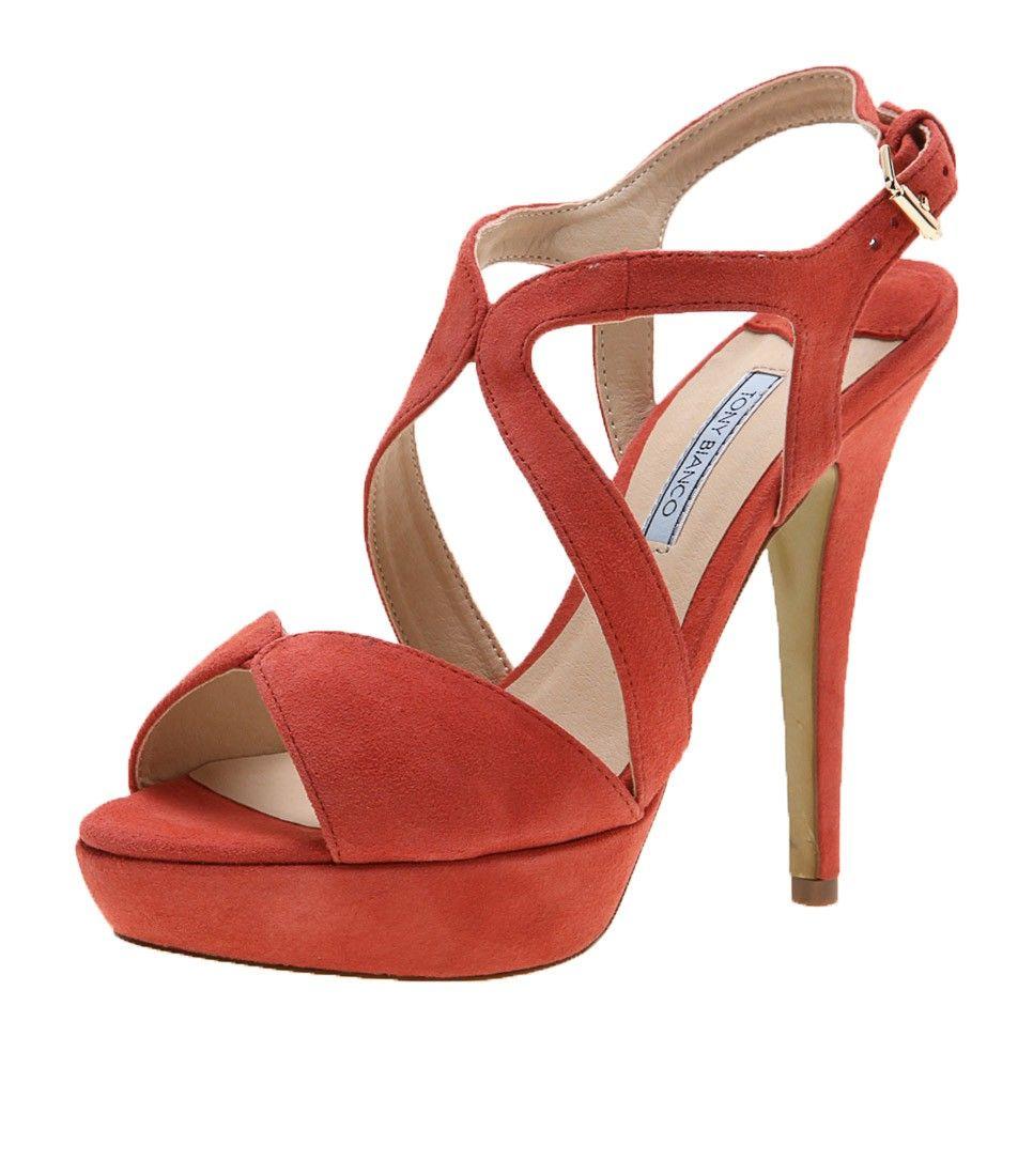 Bianco Platform heels - orange KrN2TT9YL