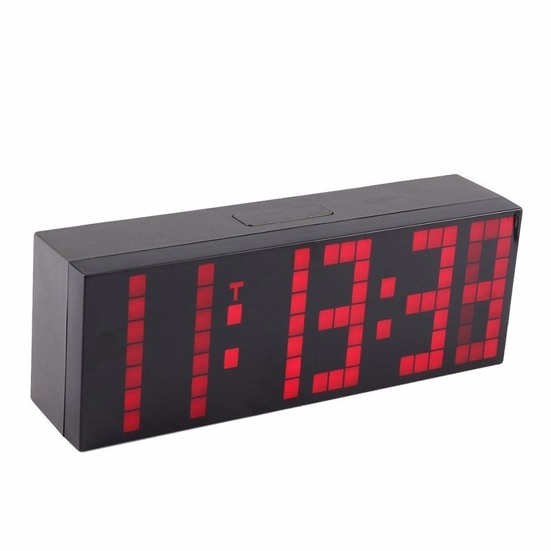 Us Lattice Led Digital Alarm / Countdown/Up Clock 24 Hour Countdowno