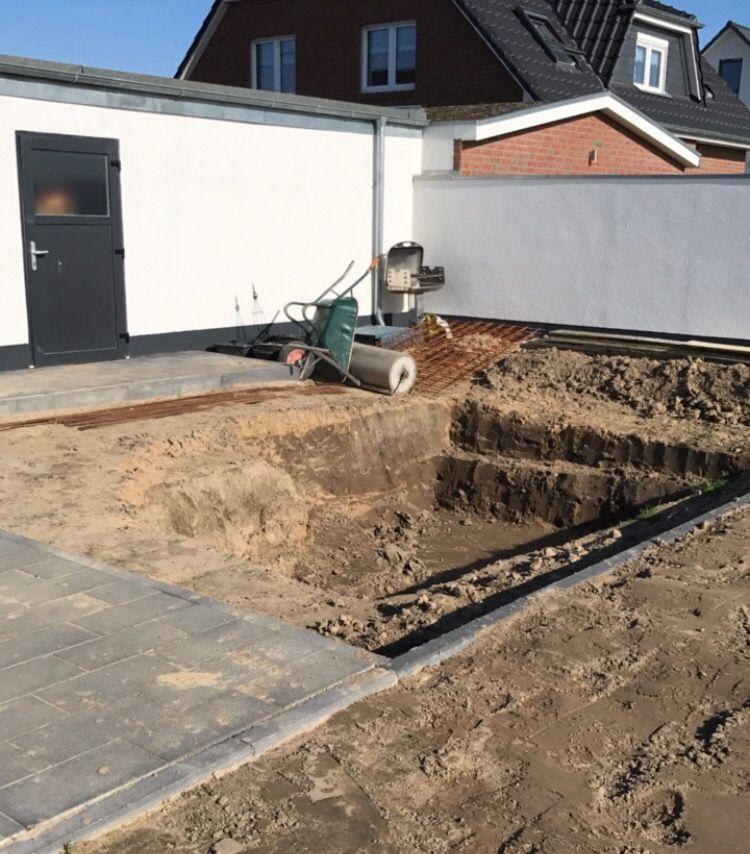 Einen Pool für den eigenen Garten mit Hilfe selber bauen #poolimgartenideen