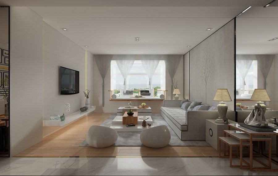 Room A Beautiful 2 Bedroom Modern Chinese