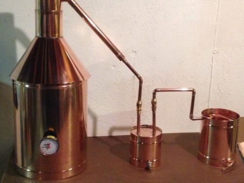 how to make a small indoor moonshine still