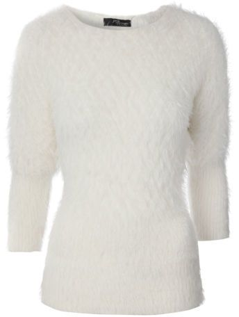 b4004ee2a6 Jane Norman Womens Diamond Eyelash Batwing Jumper Ladies Knitwear on  shopstyle.co.uk