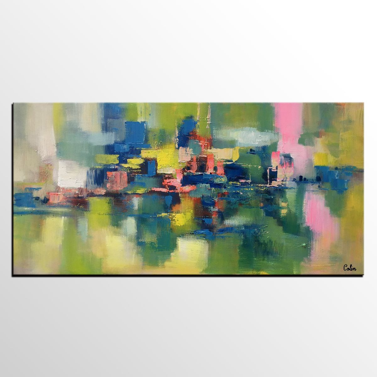 Abstract Painting Original Wall Art Canvas Art Dining Room Wall New Paintings For Dining Room Walls Inspiration Design