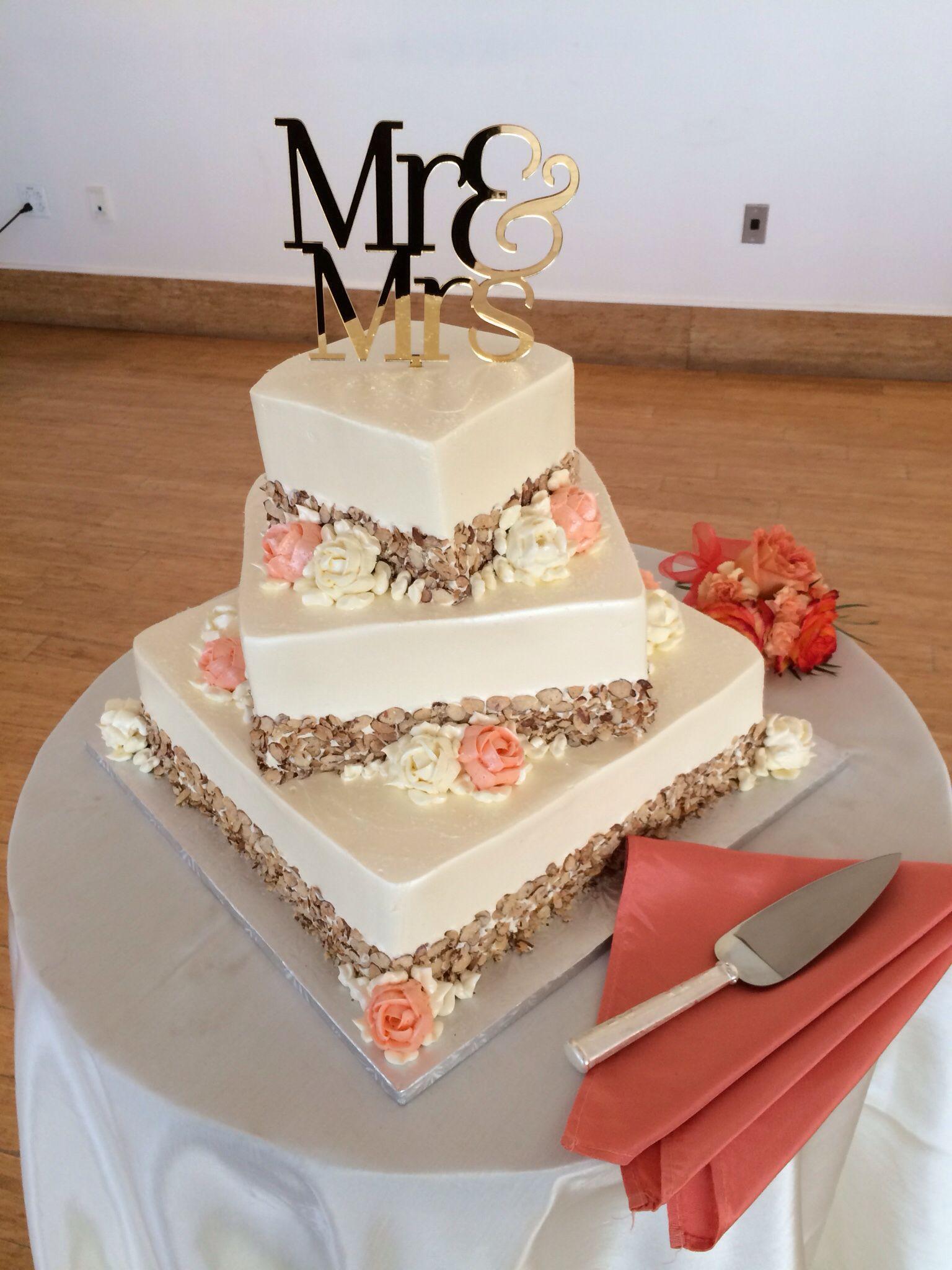 Burnt almond torte wedding cake phippsconservatory