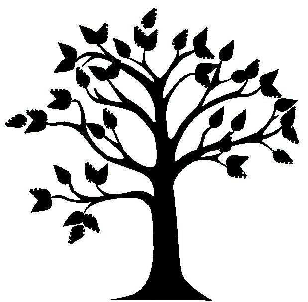 Best Tree Clipart Black And White 18993