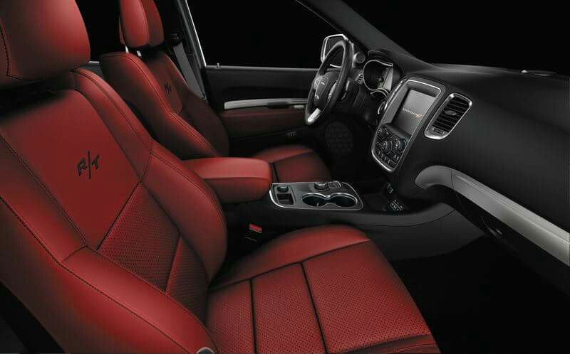 2015 Dodge Durango R/T Interior Red Hot