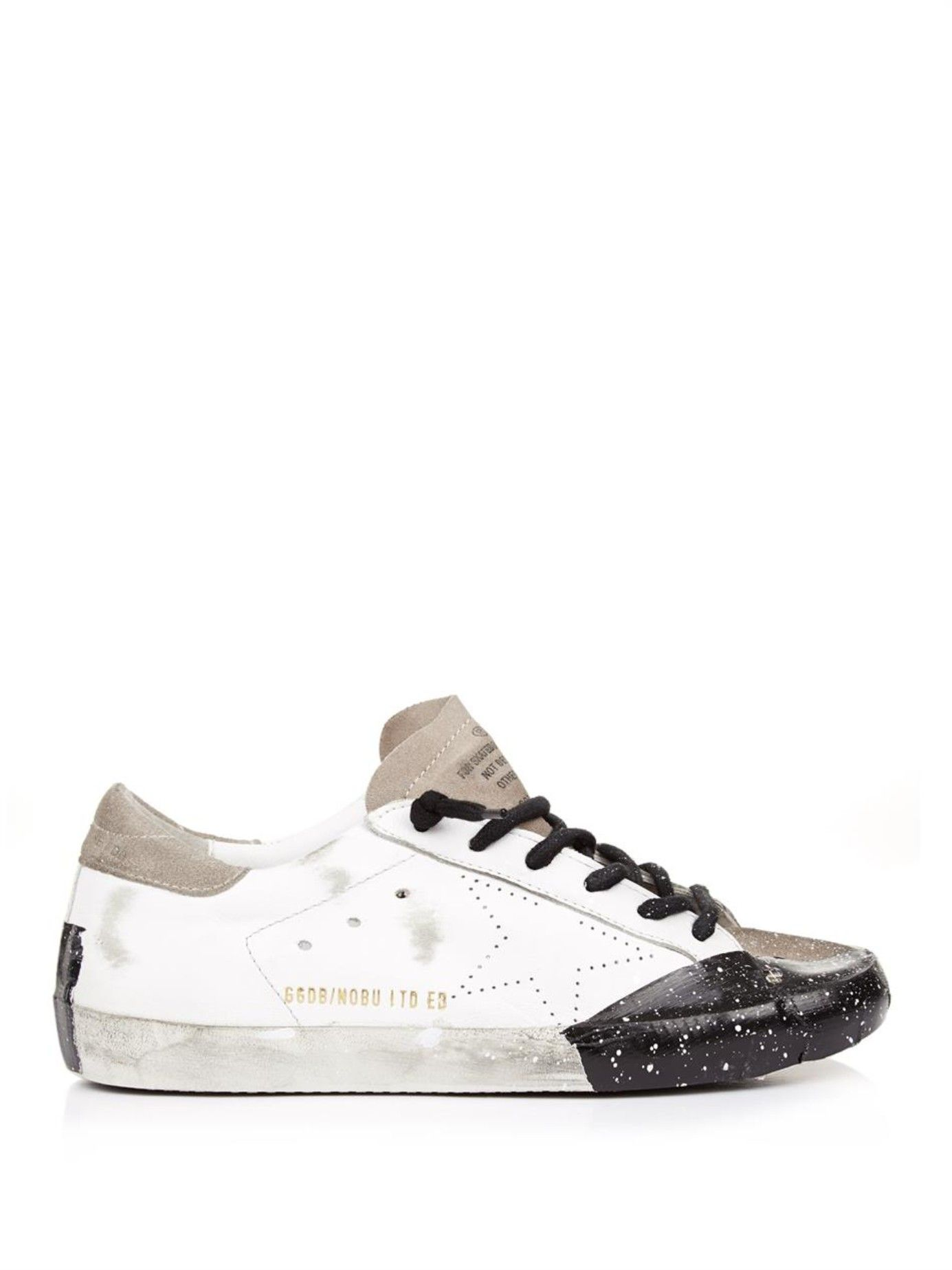 90ed0a239b4c58 Superstar low-top leather trainers