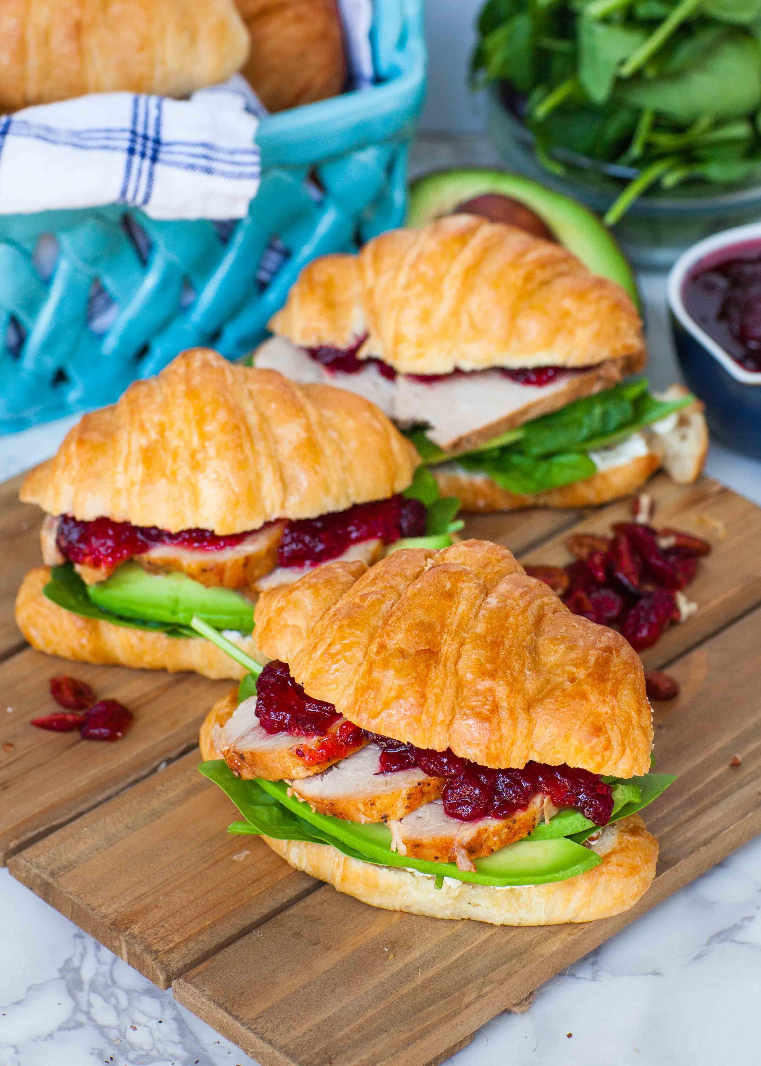 Roasted Pork Amp Cranberry Sandwich Recipe Food Recipes Tatyana S Everyday Food Sandwiches