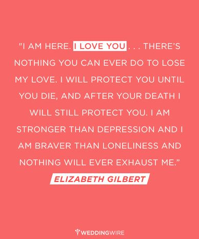 Love Quote Idea Wedding Vow Idea I Am Here I Love You