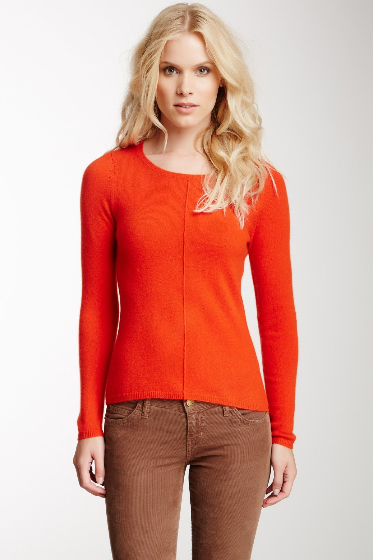 Center Seam Cashmere Sweater | Clothing and Style | Pinterest ...