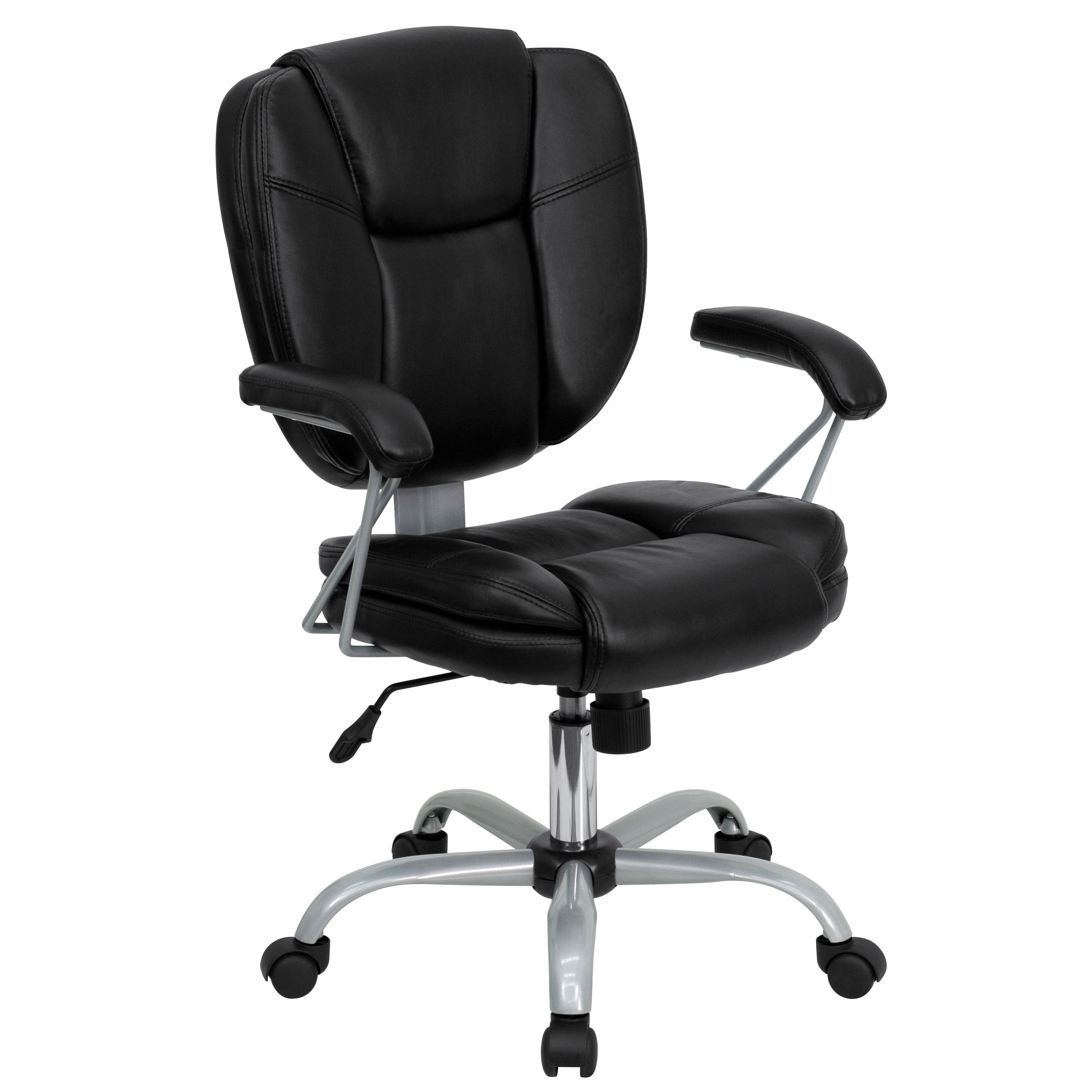 Herst nylon metal swivel adjustable high back office chair
