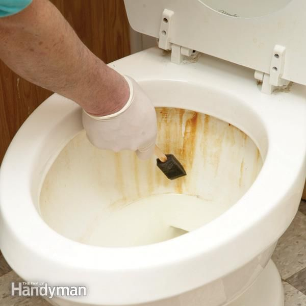 Remove Rust Stains From Toilets, Sinks And Bathtubs Quickly And Easily With  The Resin Bed Cleaner Used For Water Softeners.