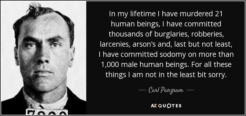 carl panzram victims